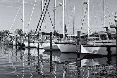 Photograph - Annapolis Yacht Club Iv by Clarence Holmes
