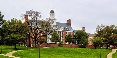 University Of Maryland Photograph - Anne Arundel Hall by Mitch Cat