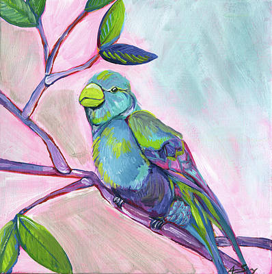 Tropical Wildlife Painting - Anne Bird by Anne Seay