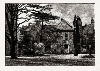 Anne Boleyns Castle, Uk Art Print by Litz Collection