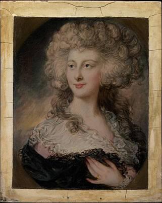 Dupont Painting - Anne Elizabeth Cholmley 1769-1788 by Gainsborough Dupont