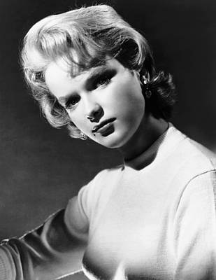 Beauty Mark Photograph - Anne Francis, Ca. Mid-1950s by Everett
