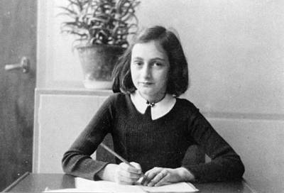Hiding Photograph - Anne Frank by Unknown