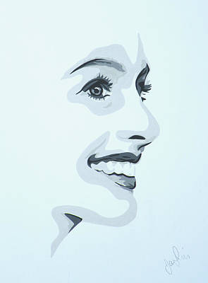 Anne Hathaway Painting - Anne by Ian  King