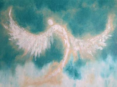Painting - Anne's Angel by Andi Oakes