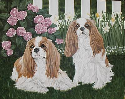 Painting - Annie And Sophie by Cynthia Brassfield