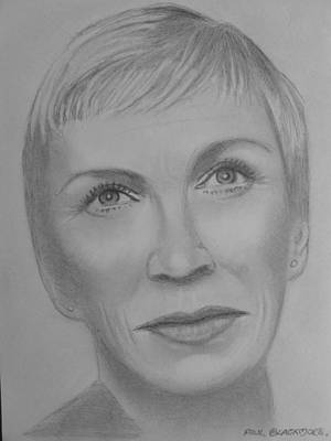 Annie  Lennox Art Print by Paul Blackmore