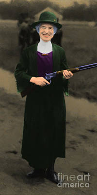 Wide Size Photograph - Annie Oakley 20130514 Long by Wingsdomain Art and Photography