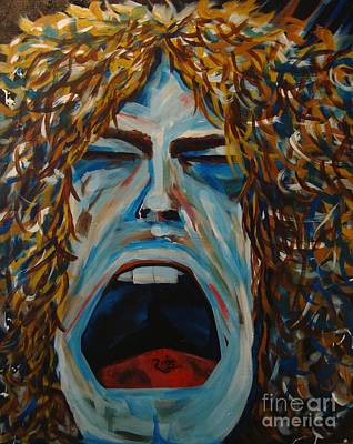 Zep Painting - Annie's Back In Town by Stuart Engel
