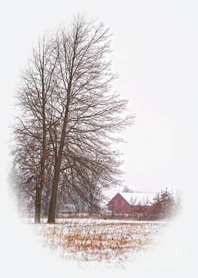 Annie's Barn Art Print by Pamela Baker