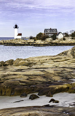 Art Print featuring the photograph Annisquam Light by Betty Denise