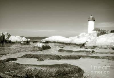 Annisquam Lighthouse  Art Print by Jim  Calarese