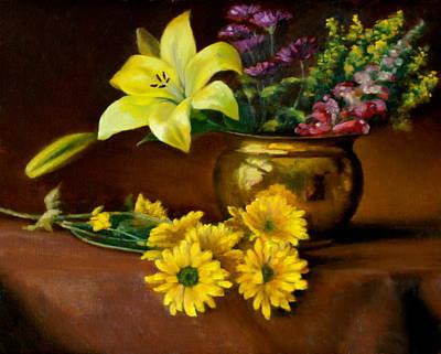 Petrov Painting - Anniversary  by Dan Petrov