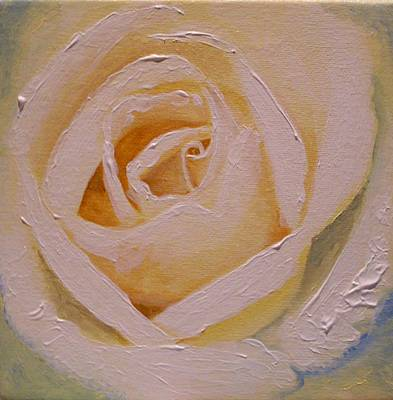 Painting - Anniversary Rose by Anne Gardner