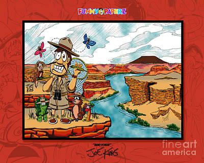 Grand Canyon Mixed Media - Anno Domini by Joe King