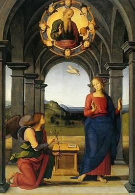 Annunciation Of Fano Art Print