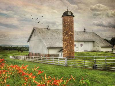 Rural Scenes Digital Art - Annville Countryside by Lori Deiter