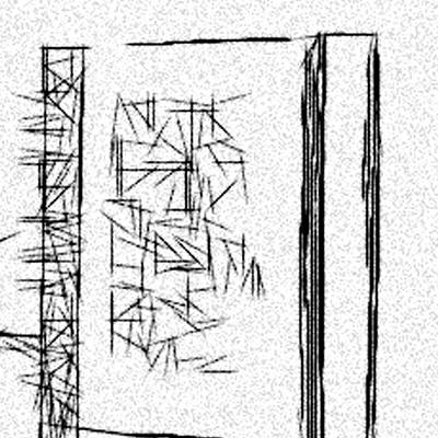 Maze Book Drawing - Anonymous Book Abstraction by Jonathan Harnisch