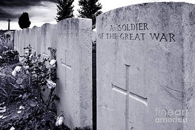 Ypres Photograph - Anonymous Death by Colin Woods