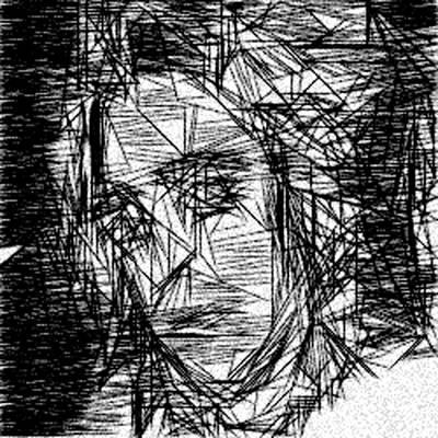 Anonymous Glam Rocker Boy Art Print