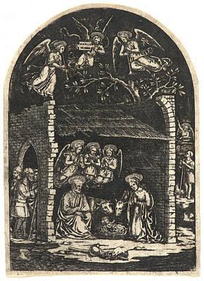 Anonymous Italian. Nativity Art Print