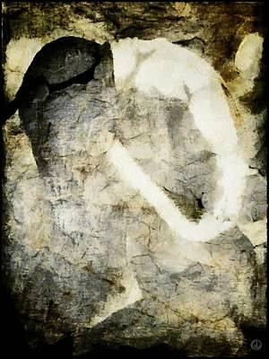 Eating Disorders Digital Art - Anorexia by Gun Legler