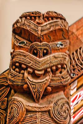 Anorigine Wood Carved Face Original