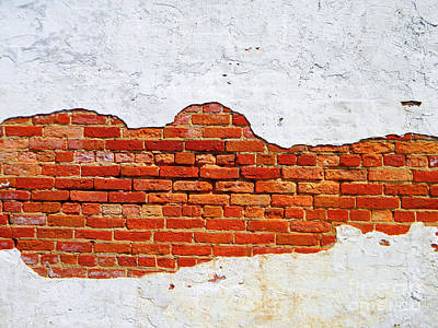 Another Brick In The Wall Art Print by Lorraine Heath