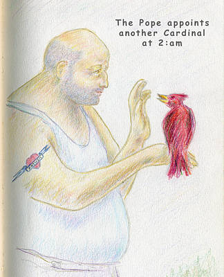 Photograph - Another Cardinal by Ed Meredith