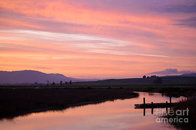 Another Carneros Sunset Art Print by Jordan Rusin
