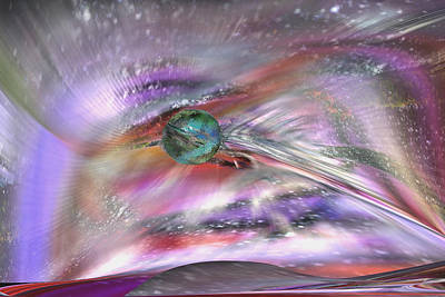 Digital Art - Another Cosmic View by rd Erickson
