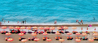 Another Day In Paradise-positano-digitized Art Print