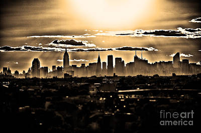 Another Day Lived In New York Art Print by Alessandro Giorgi Art Photography