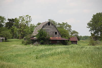 Photograph - Another Missouri Barn by Kathy Cornett