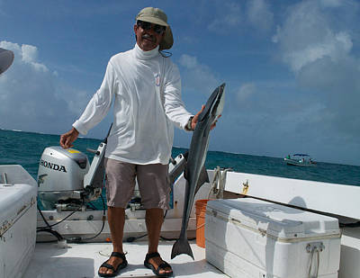 Photograph - Belize Fishing Guide by Kristina Deane
