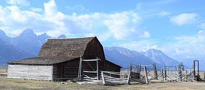 Another Old Barn Art Print by Kathleen Struckle