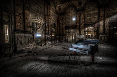 Abandoned Digital Art - Another Old Tune by Nathan Wright