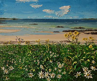 Painting - Another Perfect Day At Coral Strand Connemara Ireland by Diana Shephard