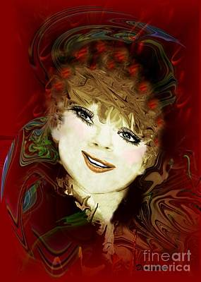 Digital Art - Another Pretty Face by Doris Wood