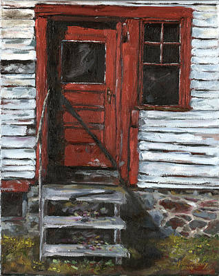 Another Red Door Original by Grant Lounsbury