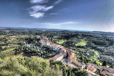 Another San Miniato View Original by William Fields