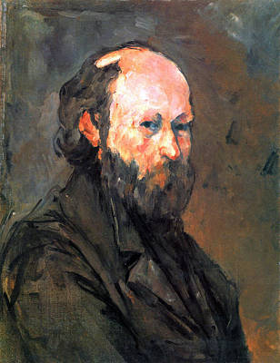 Ceramic Art - Another Self Portrait By Cezanne by John Peter