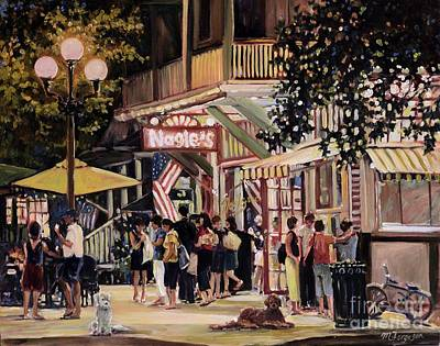 Another Summer Night Print by MG Ferguson