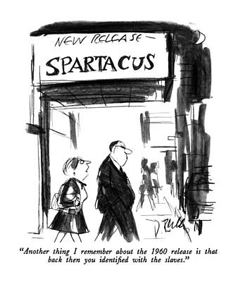 1960 Drawing - Another Thing I Remember About The 1960 Release by Donald Reilly