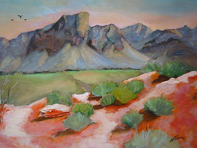 Painting - Another View From Seven Sisters by Luz Perez