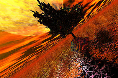 Digital Art - Another World by A Dx