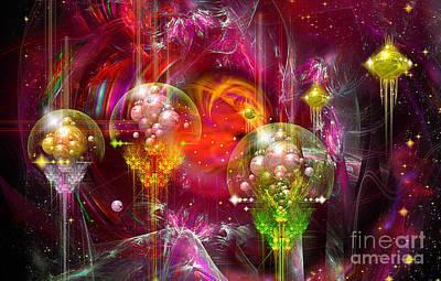 Digital Art - Another World by Alexa Szlavics