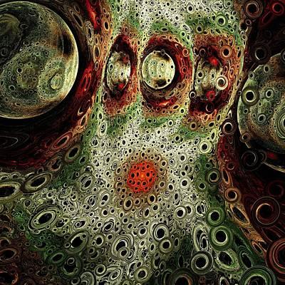 Digital Art - Another World by Anastasiya Malakhova