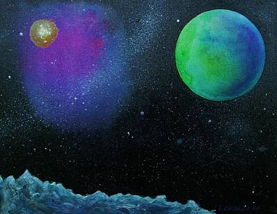 Another World - Sold Art Print by Lou Cicardo