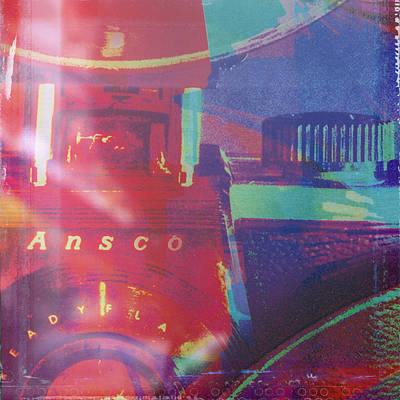 Digital Art - Ansco Camera Art by Susan Stone